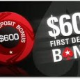 PokerStars giver alle deres nye kunder, hele 3 chancer for at indkassere op til i alt $600 i skattefri velkomstbonus. Gør krav på din PokerStars bonus i dag. Det er […]